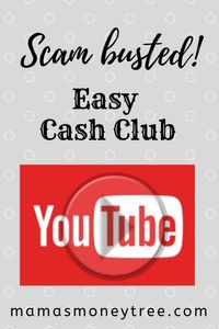 Easy Cash Club scam, we expose it all here…