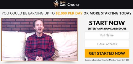 ecom cash crusher testimonial 1