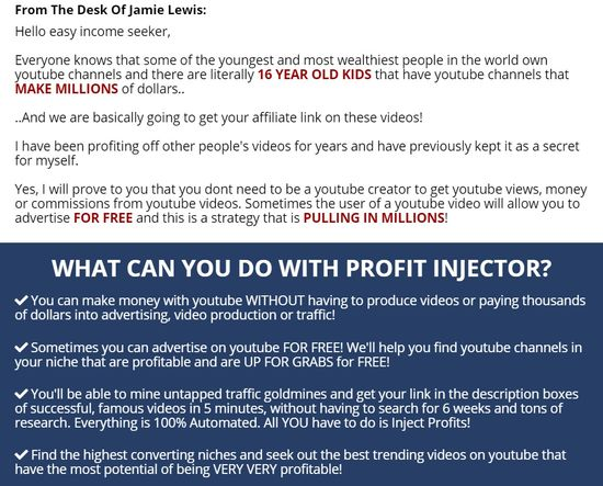 profit injector easy