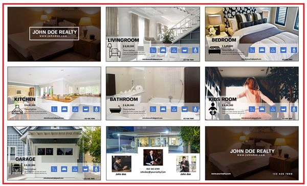 realty vids video template