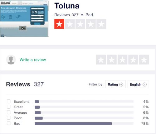 toluna negative reviews