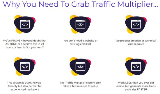 traffic multiplier no website