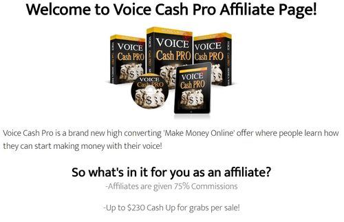 voice cash pro affiliate