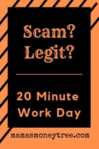 20 minute work day review