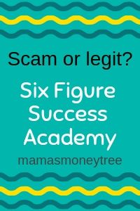 Course Creation Six Figure Success Academy  Warranty Registration