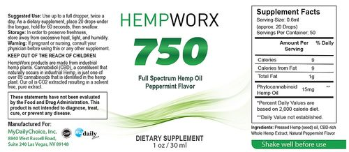 hempworx ingredients list