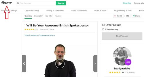 instant email empire fiverr actor
