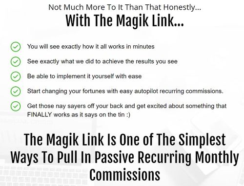 magik link simple