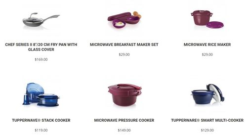 tupperware cook