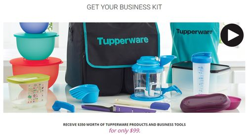 tupperware starter kit
