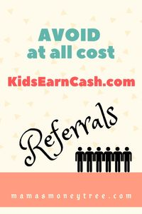 Kids Earn Cash Scam? Ugly Truth here…