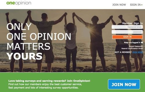 oneopinion sign up