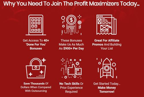 profit maximizers why join