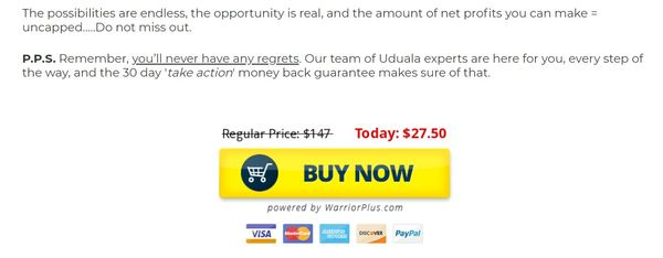 uduala money back guarantee