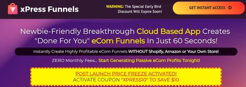 xpress funnels sales page