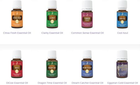young living oil blends