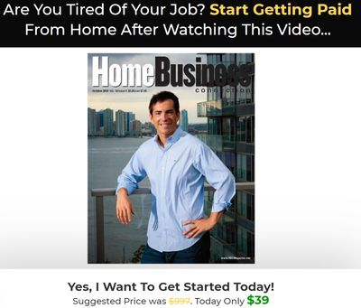 9 to 5 job killer sales page