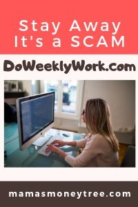 Is DoWeeklyWork a SCAM? YES!