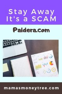 What is Paidera.com? Another SCAM?