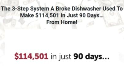broke dishwasher sales page