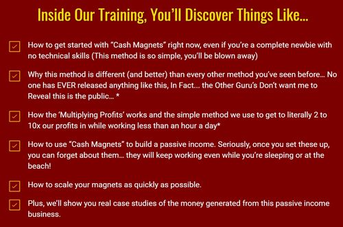 cash magnets training