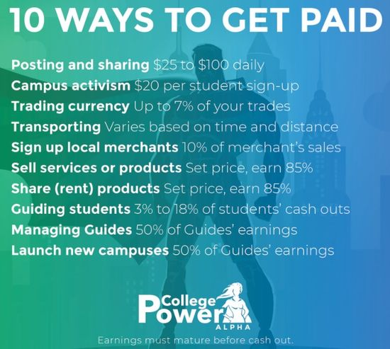 college power ways to earn