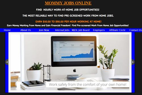 mommy jobs online homepage