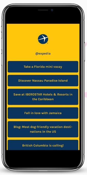 profiturl expedia multiple links