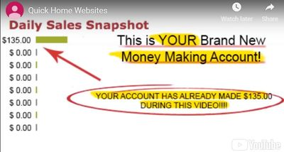 quick home websites your account
