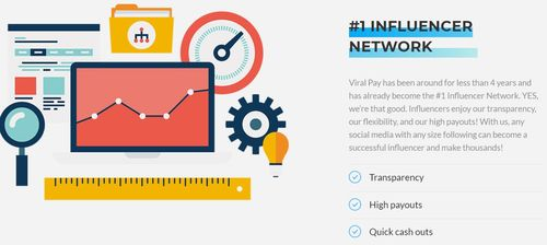 viralpay influencer network