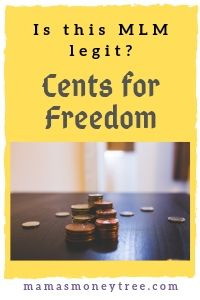 What is Cents for Freedom? SCAM?