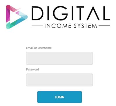digital income system home page