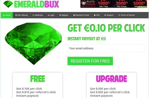 emeraldbux home page