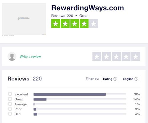 rewardingways feedback