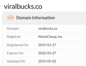 viralbucks domain