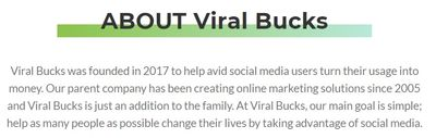 viralbucks founded 2017
