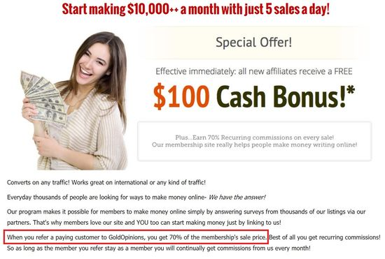 gold opinions affiliate program