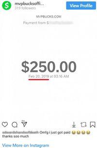 mvpbucks fake payment proof