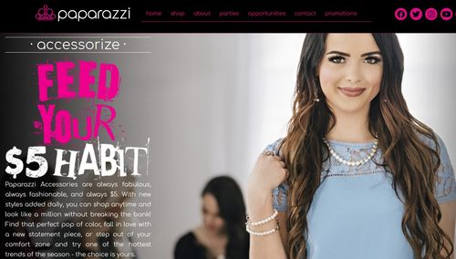 paparazzi home page