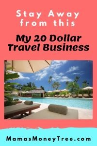 My 20 Dollar Travel Business SCAM – DON'T Do It