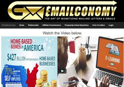 emailconomy home page