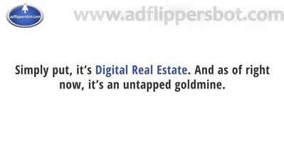 adflippersbot digital real estate