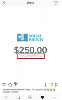 socialbounty fake payment proof
