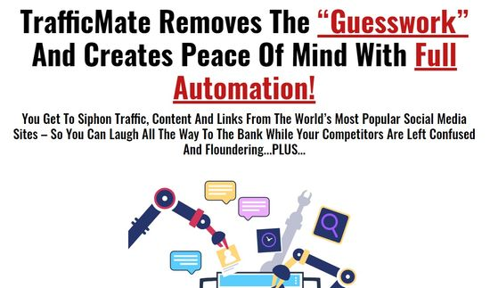 trafficmate home page