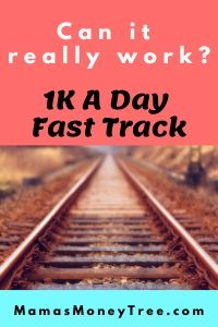 1k A Day Fast Track Training Program Coupon Stackable 2020