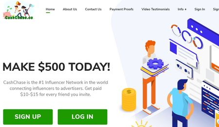 cashchase home page