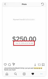 click2cash fake payment proof