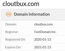cloutbux domain