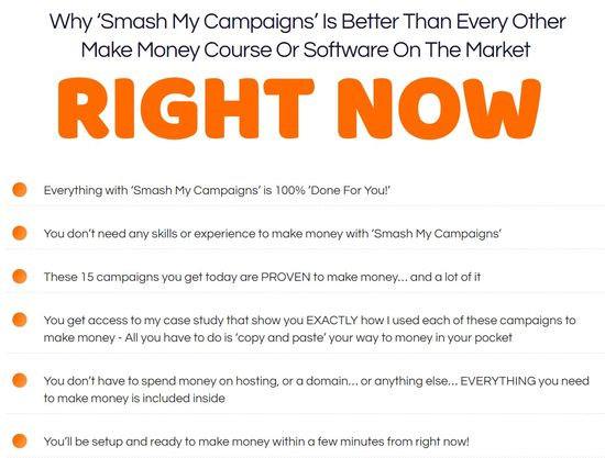smash my campaigns home page