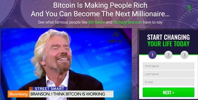 bitcoin profit fake news